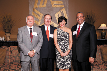 2012 Distinguished Alumni group photo