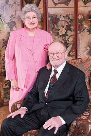 Alumni Charles and Eleanor Garrett