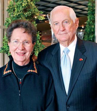 Elizabeth and Gene Arnold