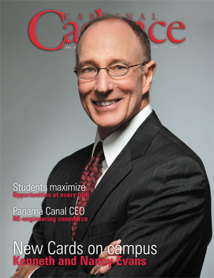 Cover of Cadence June 2013 Spring/Summer—New President Kenneth Evans