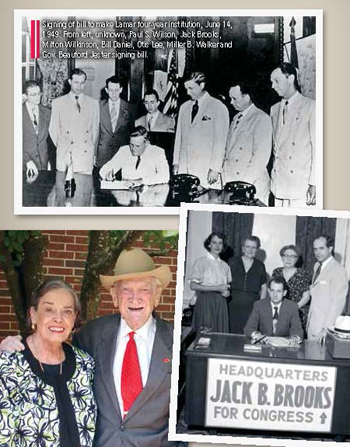 Jack Brooks historical photo montage