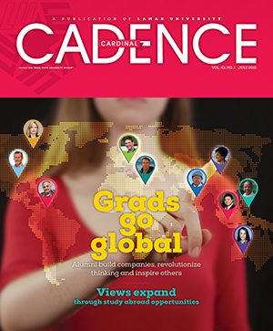Cover of Cadence Vol. 43 No. 1 Going Global