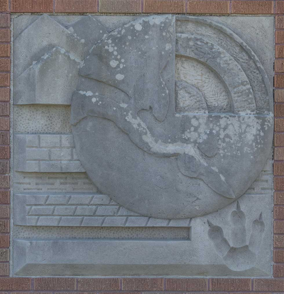 Herring Coe - Untitled Bas Relief