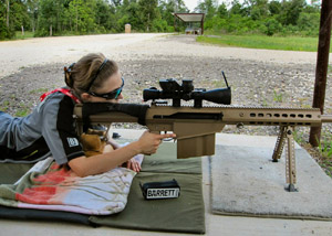 Chestnut with .50 BMG