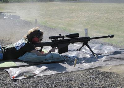 Chestnut firing .50 BMG