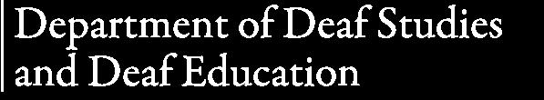 Deaf Studies and Deaf Education
