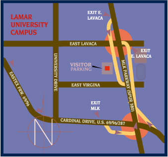 Visitor Parking Map