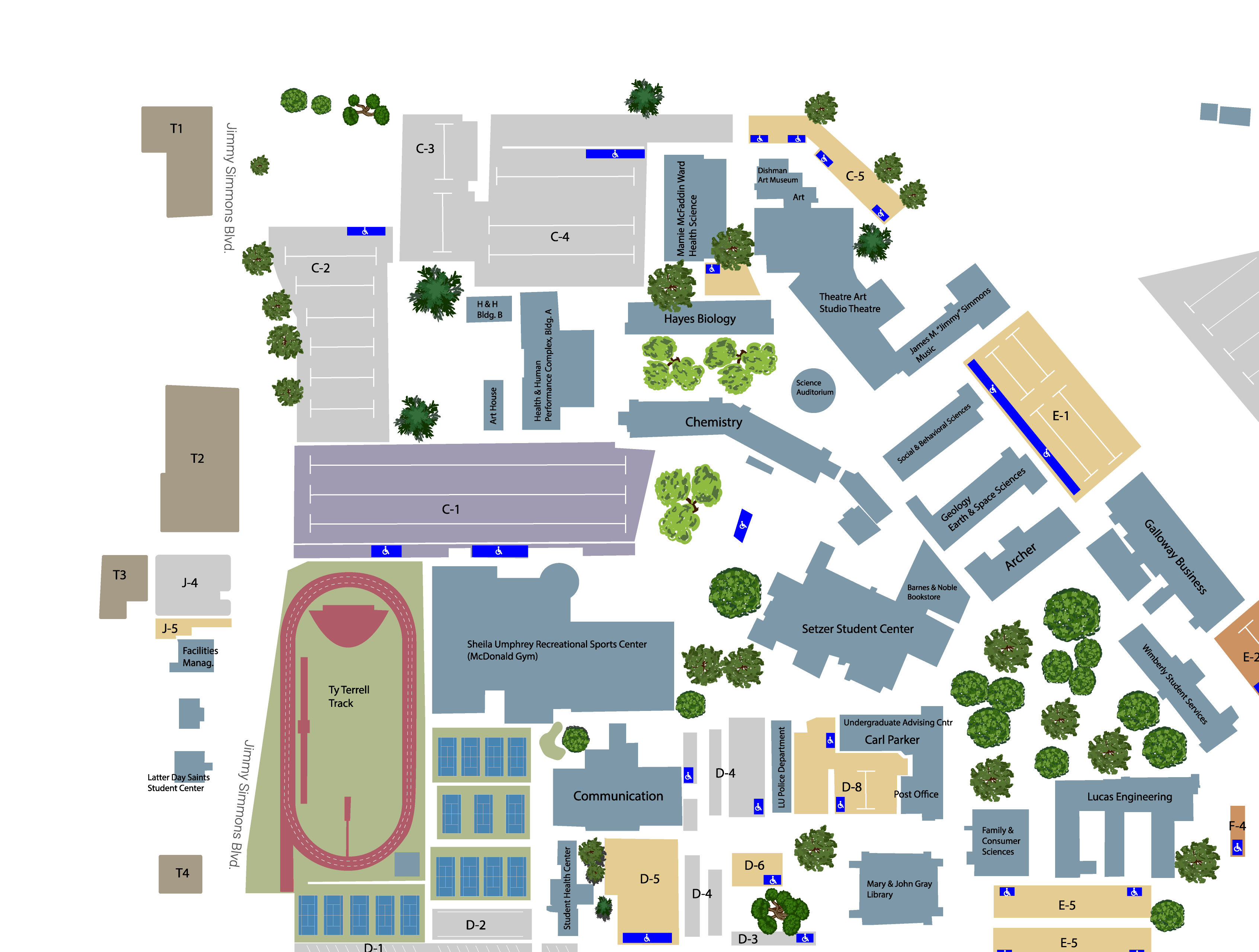 Lamar University Campus Map on newman college accommodations, lancaster university campus map, newman university map, melbourne campus map, university of birmingham campus map, soas campus map, university of sheffield campus map, coventry university campus map, newman school map, university of wolverhampton campus map, glasgow school of art campus map,