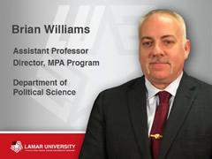 Brian Williams MPA Director