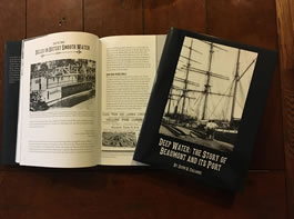 "Book by Davi Falloure, ""Deep Water: The Story of Beaumont and its Port"""