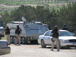 cev and paramilitay unit FLDS 2008