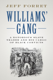 Williams' Gang Book Jacket