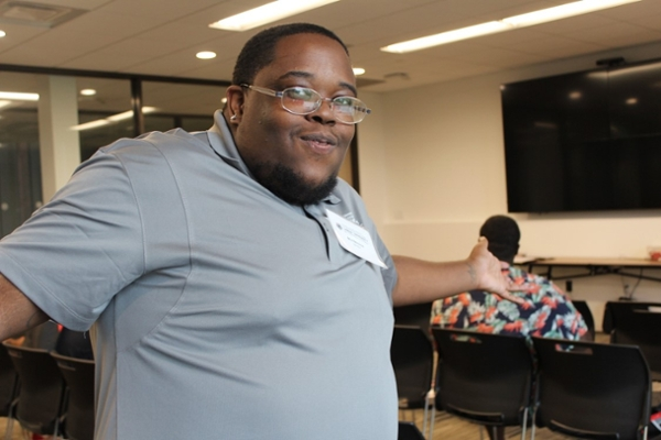 One of our Men of Excellence Mentors