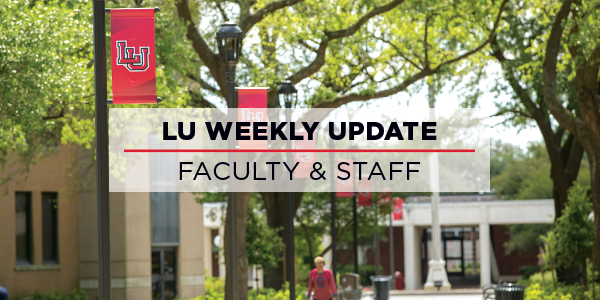 Monday Morning Update Faculty & Staff