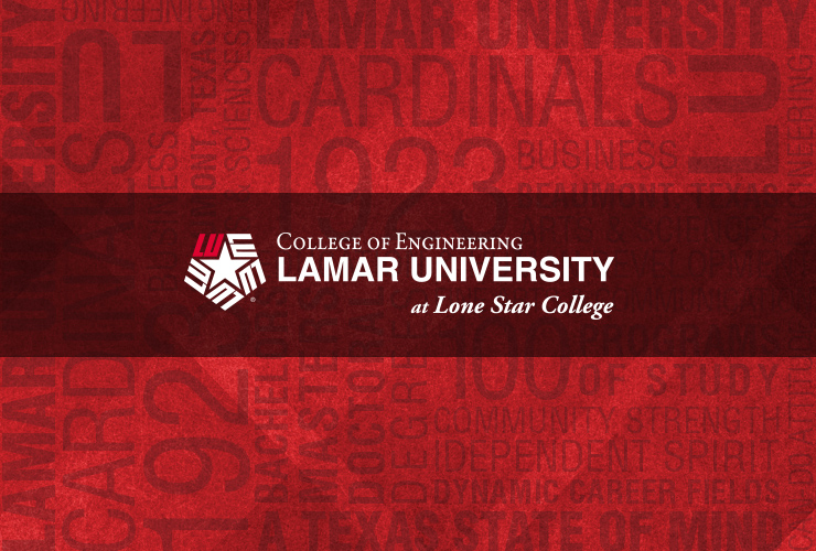 lamar university and lone star college logo