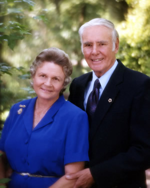 Joyce and Andrew Green