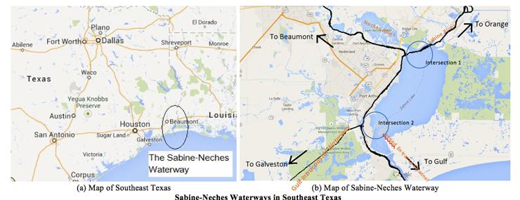 East Orange Focus >> Waterway Transportation Analysis - Lamar University