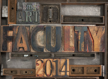 Art Faculty Show image