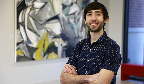Art student Gonzalo Alvarez enters national conversation with 'Borders'