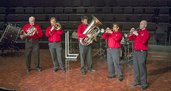 LU Faculty Brass Quintet