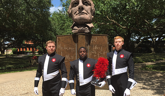 Drum Majors Mirabeau Head