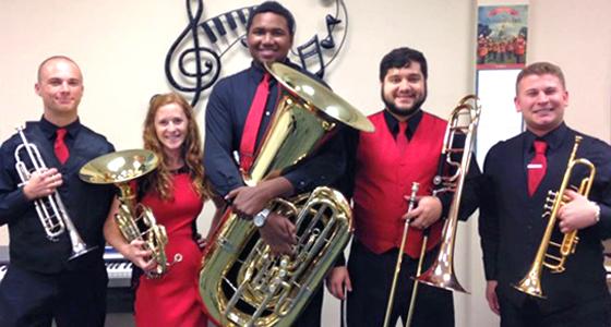 LU Honors Brass Quintet