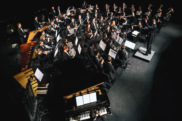 LU Wind Ensemble and Symphonic Band present year's first concert