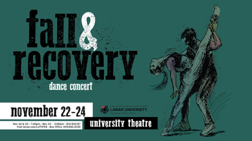 Department of Theatre and Dance presents Fall and Recovery dance concert (Disponible en Espanol)