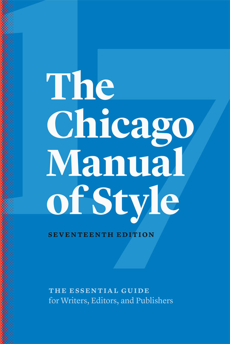 chicago manual of style paper
