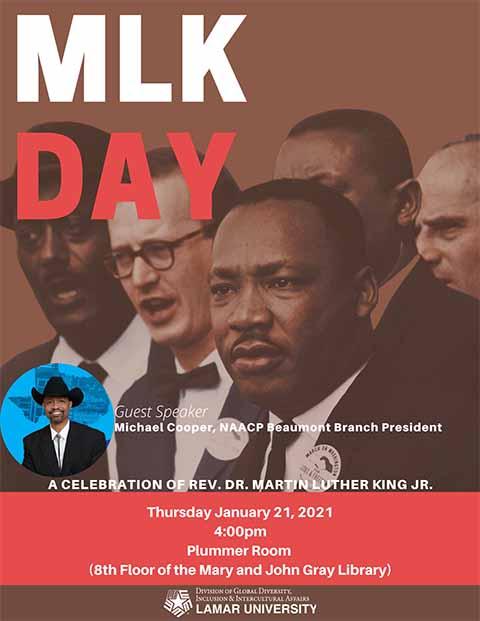 LU MLK Poster