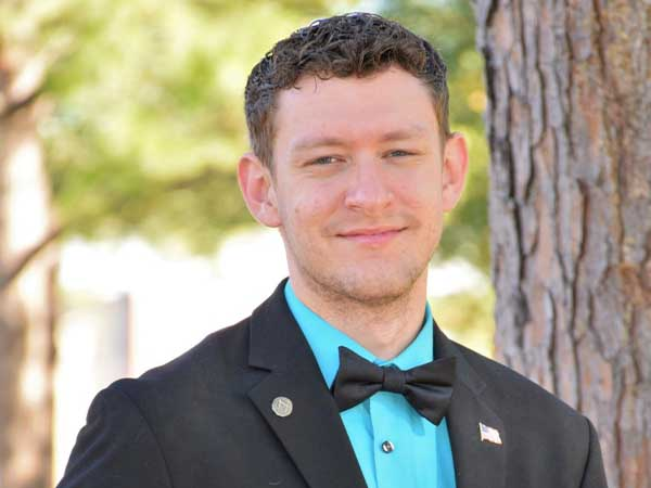 LU student Brendon Camp named runner-up in national Pi Sigma Alpha competition