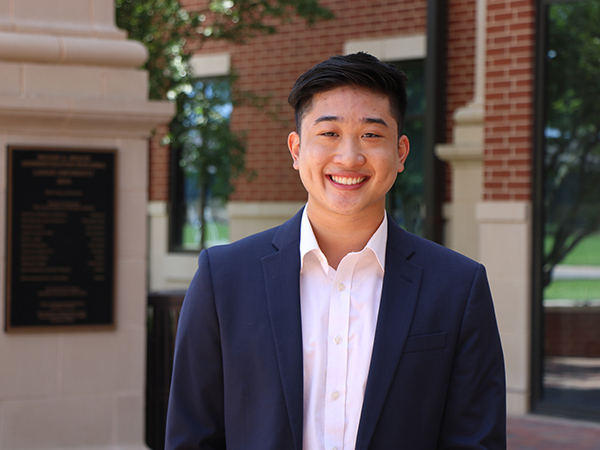 Dion Tran receives Texas Business Hall of Fame Ben J. Rogers Scholarship